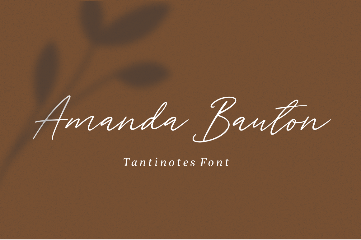 Tantinotes - Handwritten Font example image 5