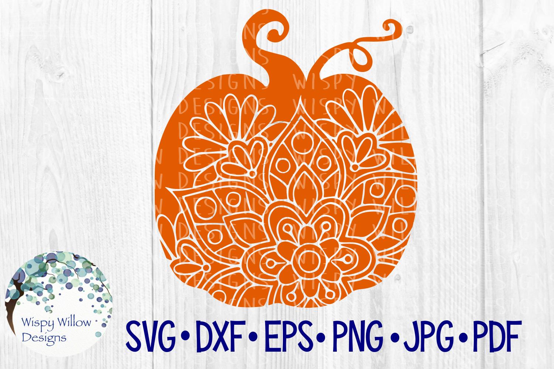 Fall Bundle, Pumpkins, Zentangle, Mandala, SVG Cut Files example image 4
