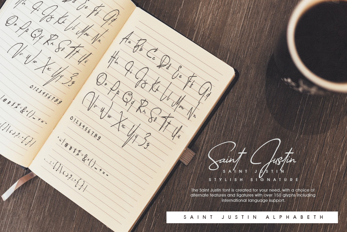 Saint Justin signature example image 5