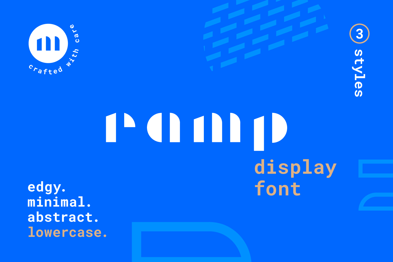 Ramp Display Font example image 1