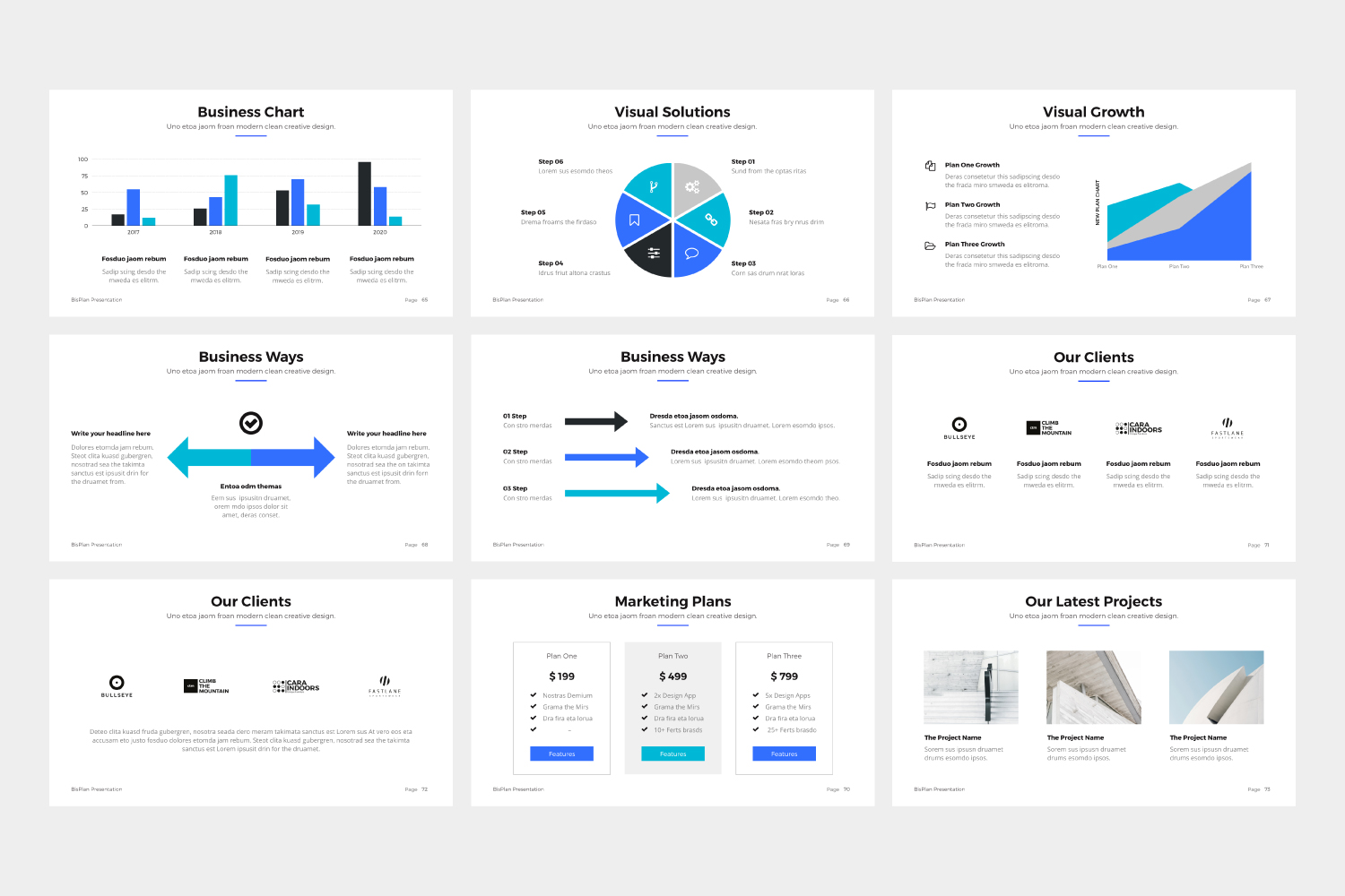 BizPro | Proposal Powerpoint Template example image 9