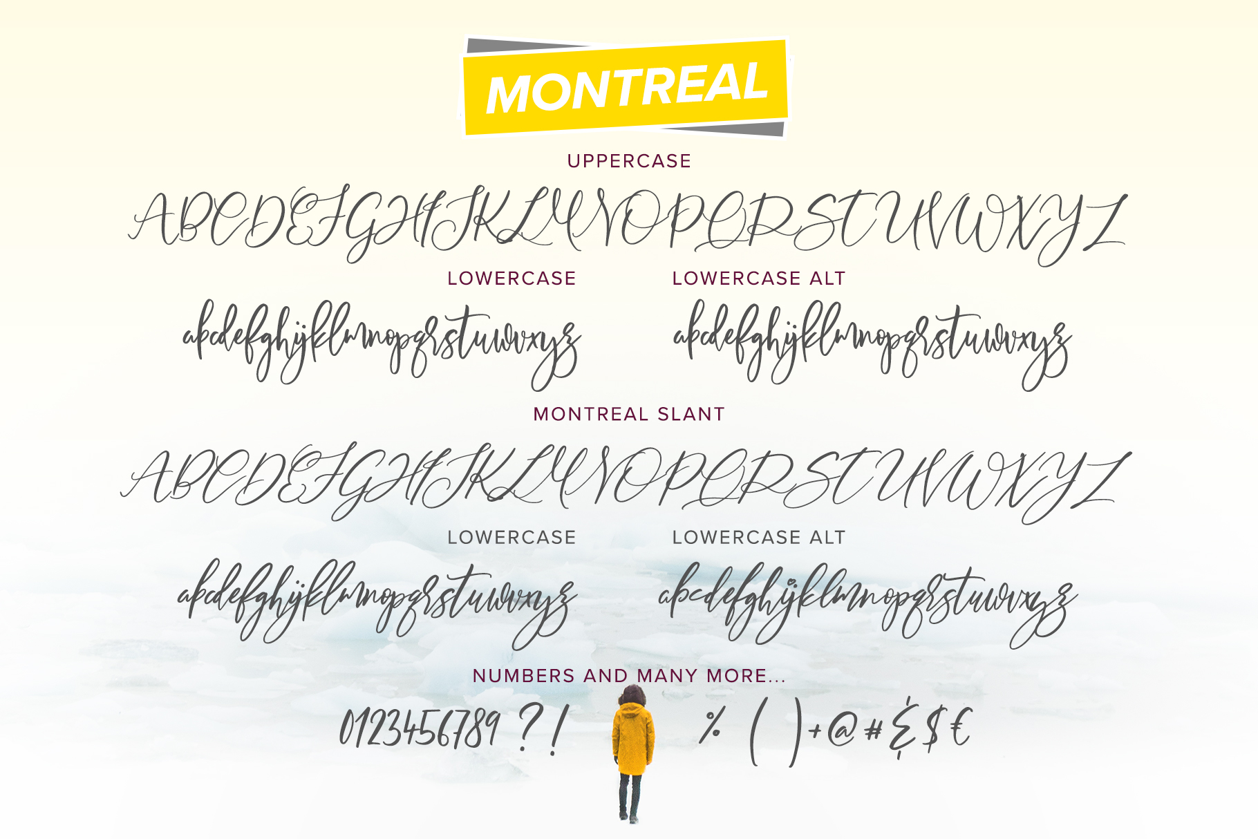 Montreal Script Font example image 2