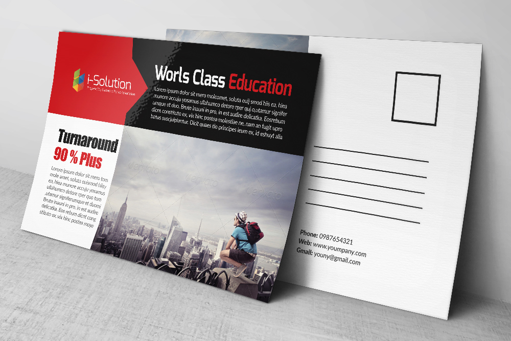 Professional Business Postcards example image 3