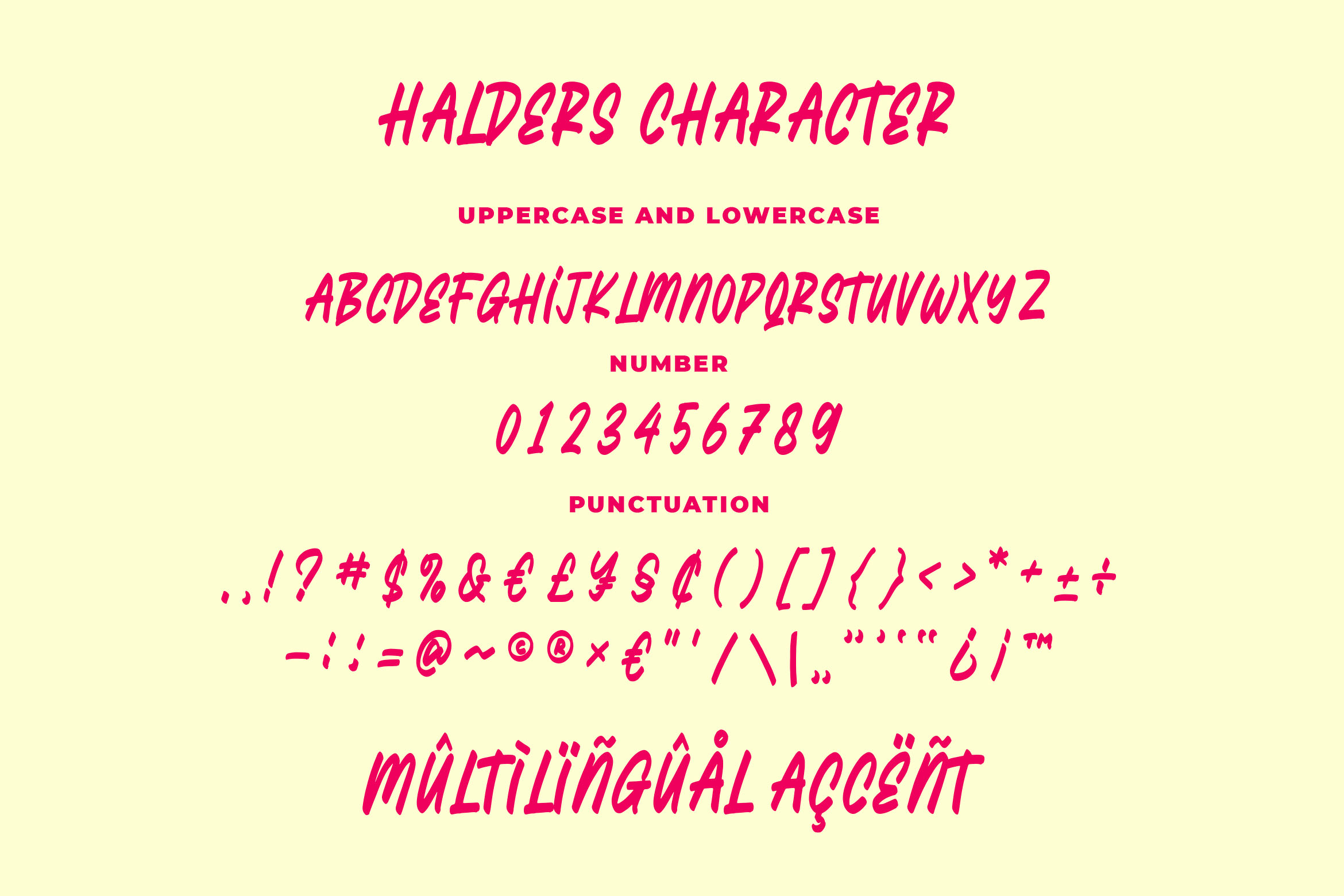 Halders - Playfull Typeface example image 4