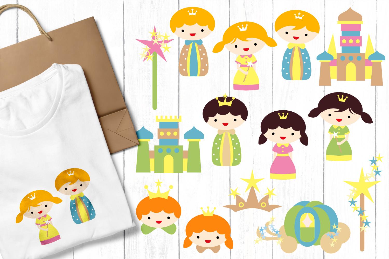 Just For Girls Clip Art Illustrations Huge Bundle example image 6