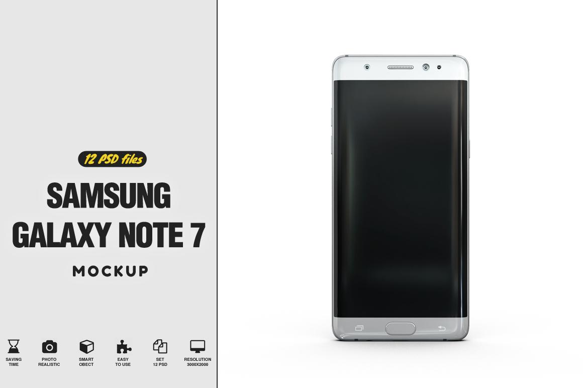 Samsung Galaxy Note 7 Mockup example image 1