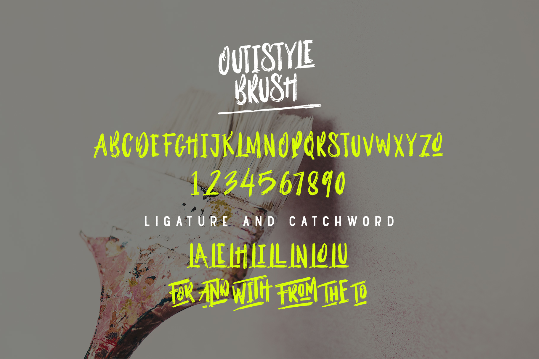 Outistyle Font Duo example image 11