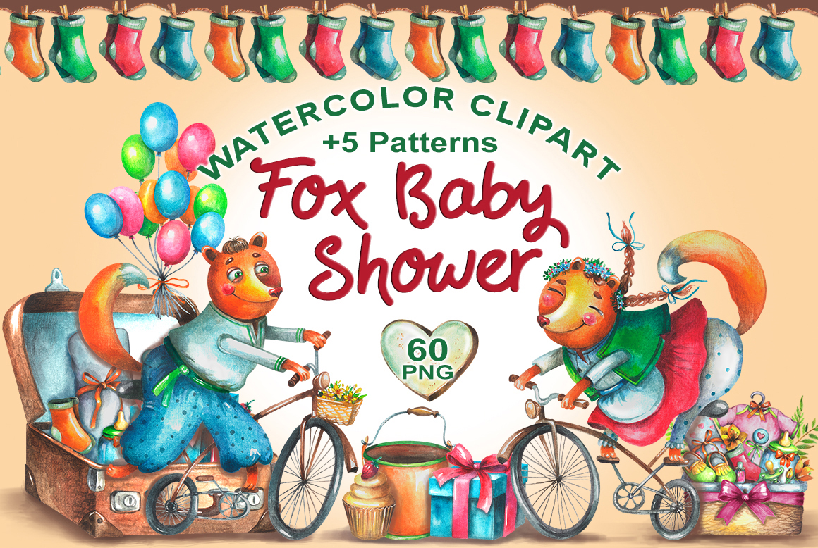 Fox Baby Shower example image 1