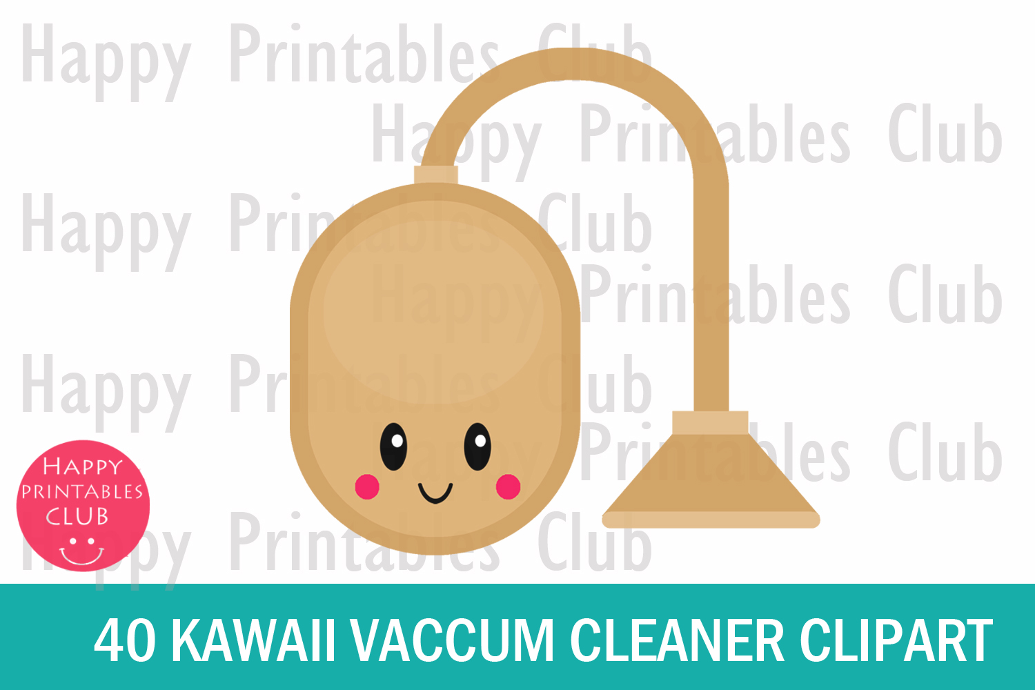 40 Kawaii Vacuum Cleaner Clipart- Vacuum Cleaner Clipart PNG example image 2