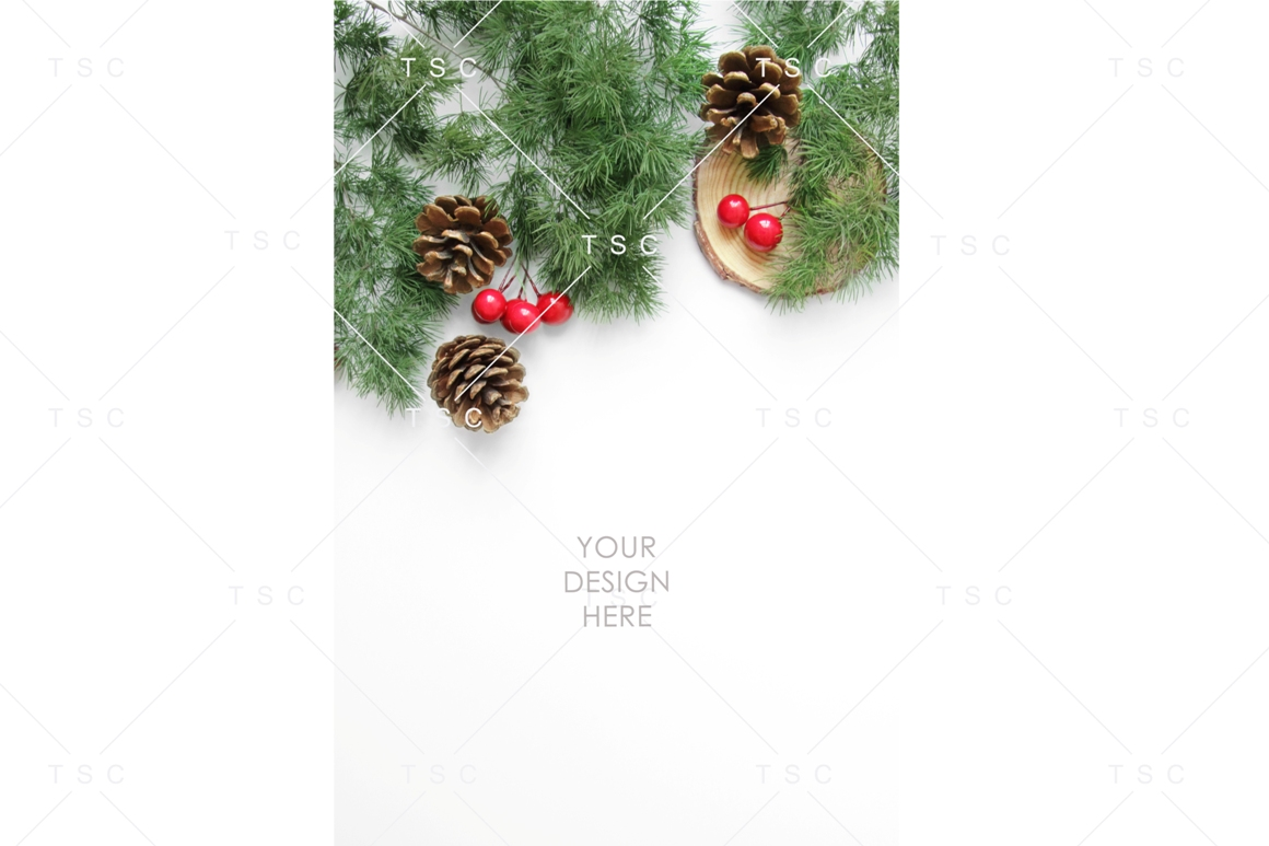 Christmas Stock Bundle / Background Image / Red / Green example image 3