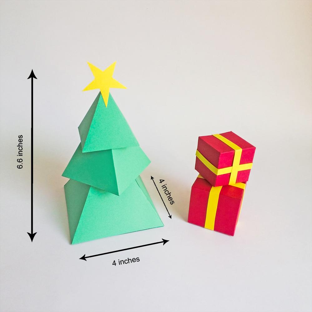 DIY Christmas Tree - 3d Papercraft example image 2