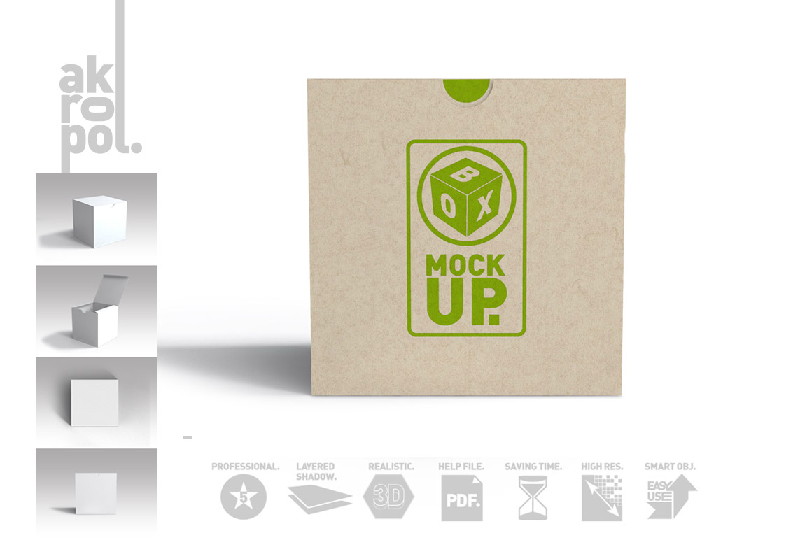 Package Box Mockups example image 2