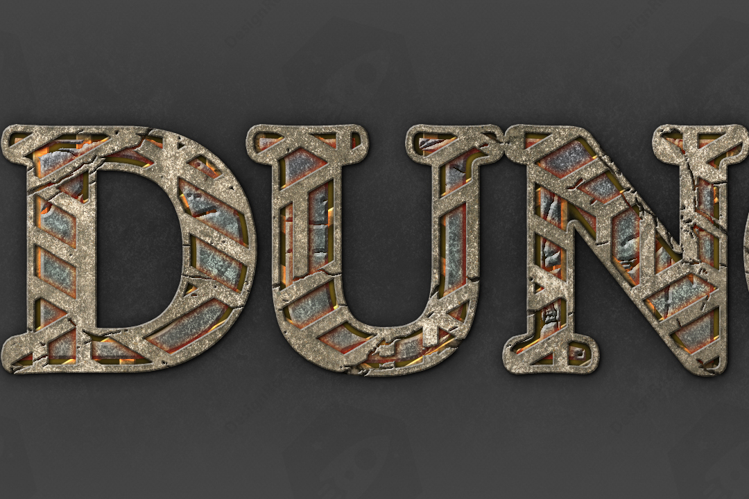 Dungeon TextFX example image 11