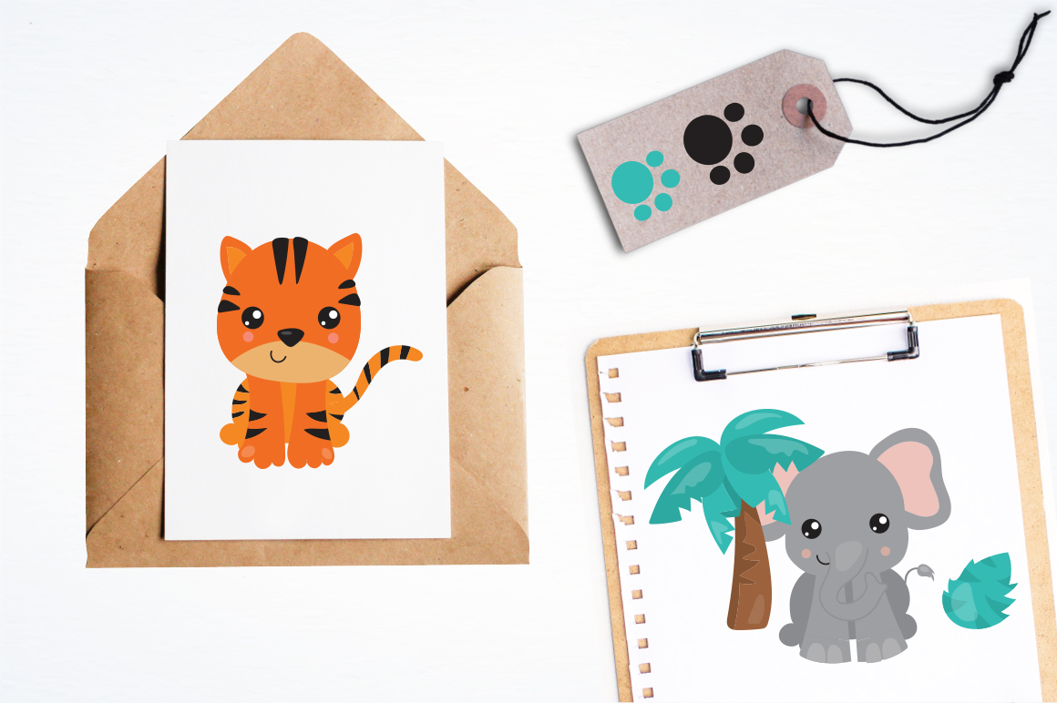 Safari Party graphic and illustration example image 3