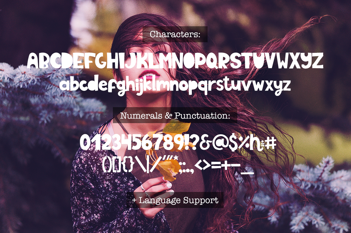 La Balade - Creative Typeface example image 10