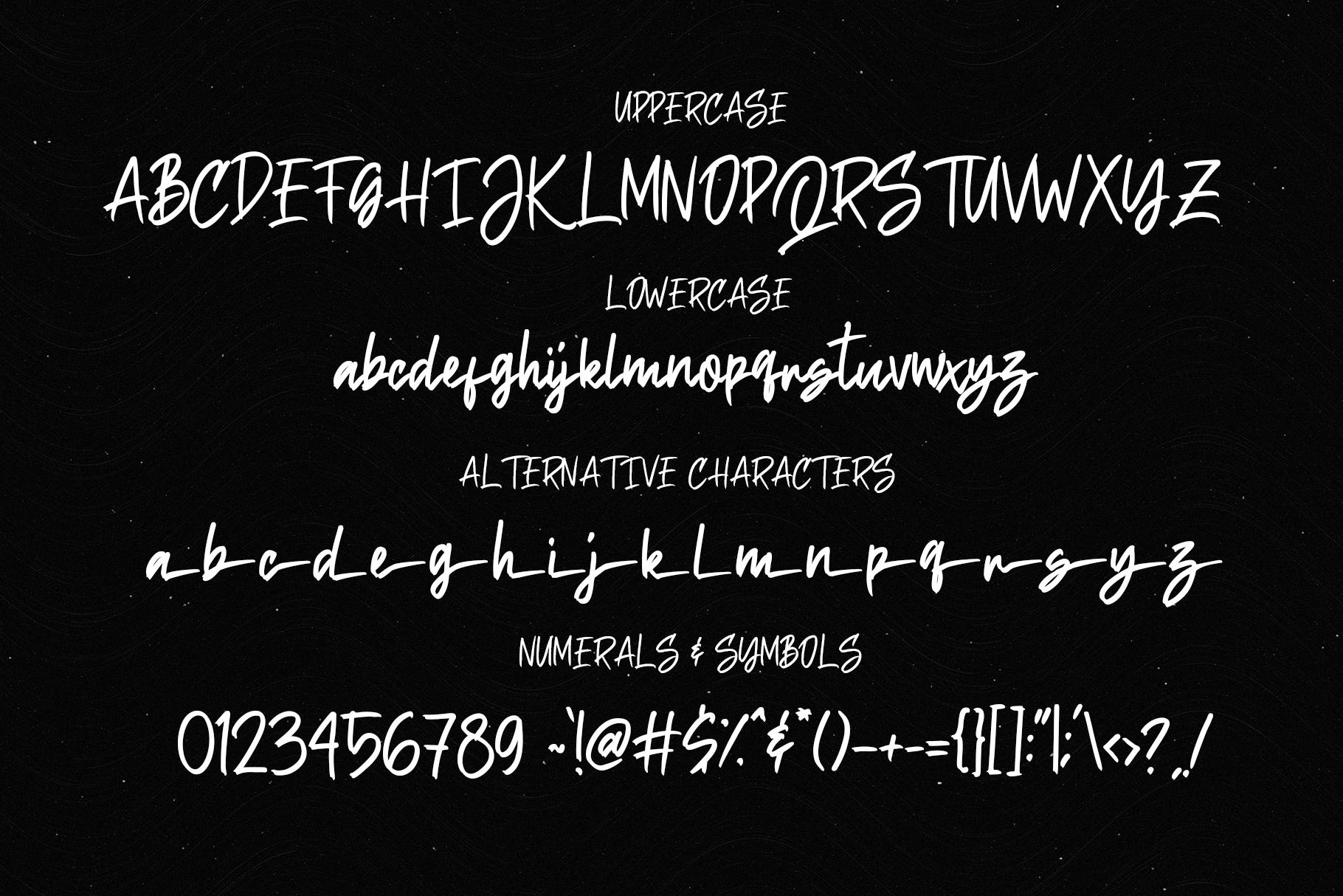 Sethidy - Handwritten Font example image 7