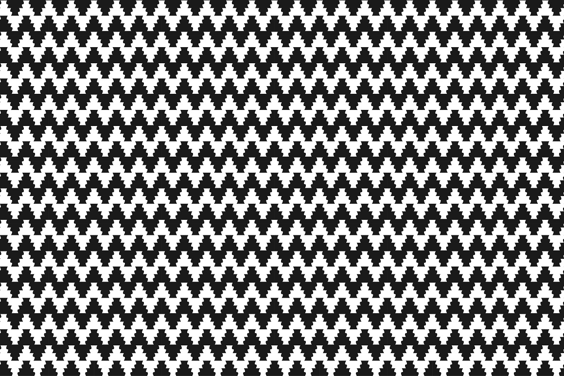 Geometric seamless modern patterns. example image 8