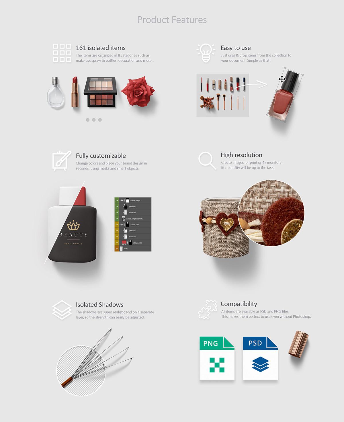 Beauty & Cosmetics Scene Generator example image 2