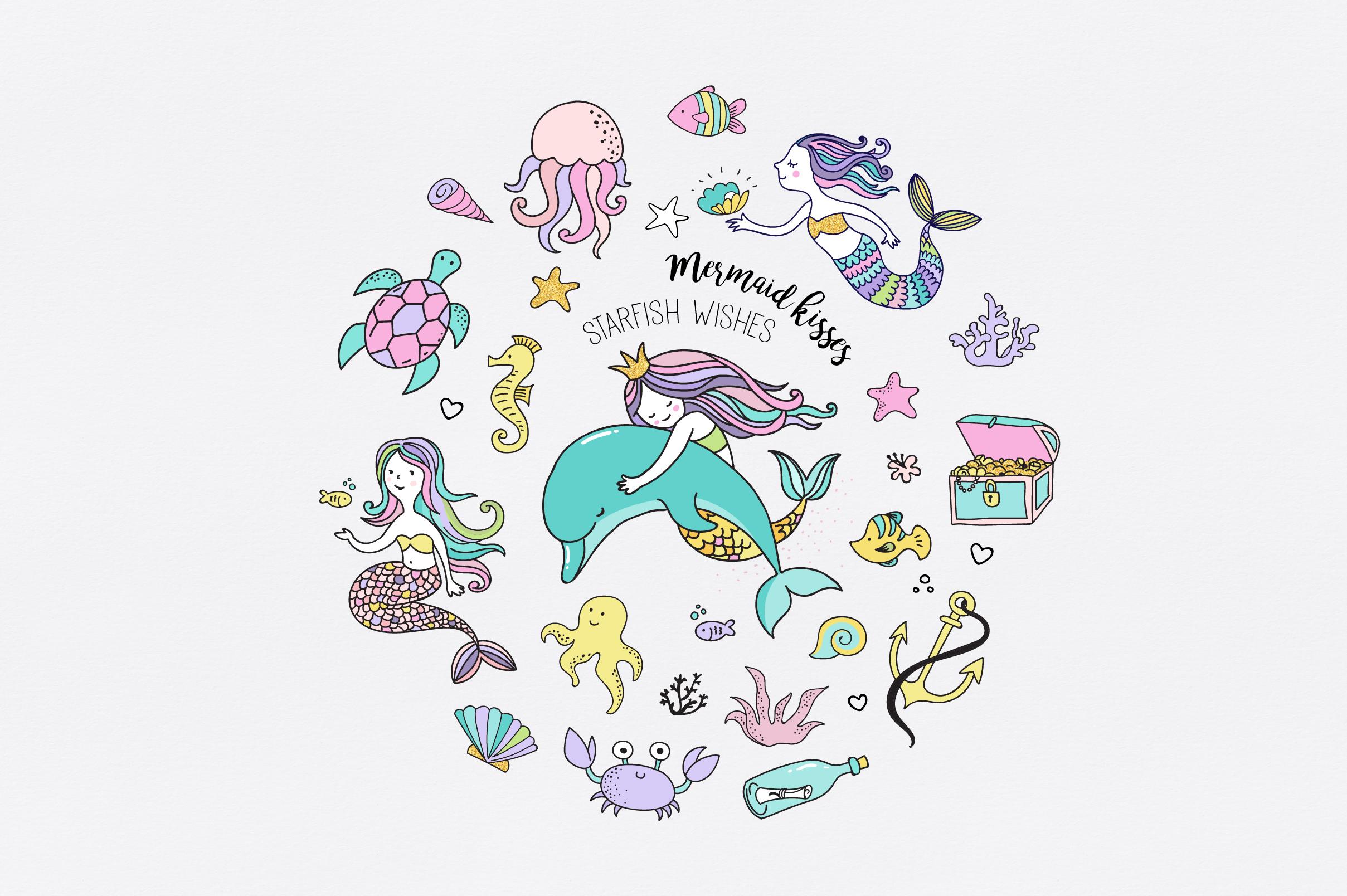 Little Mermaid - under the sea set example image 4