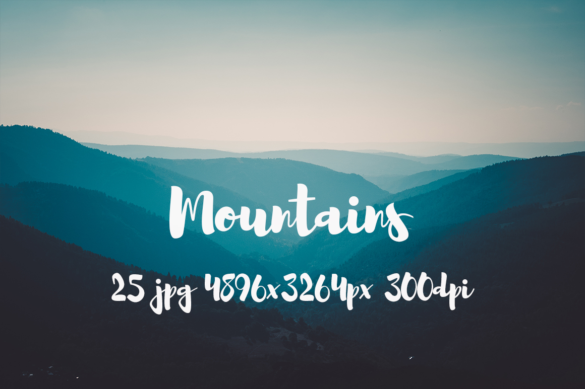 Mountains Pack example image 5