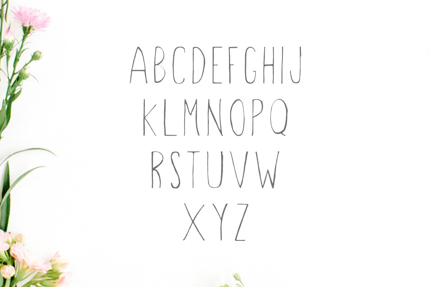 Hacca Handwritten Sans Serif Font example image 5