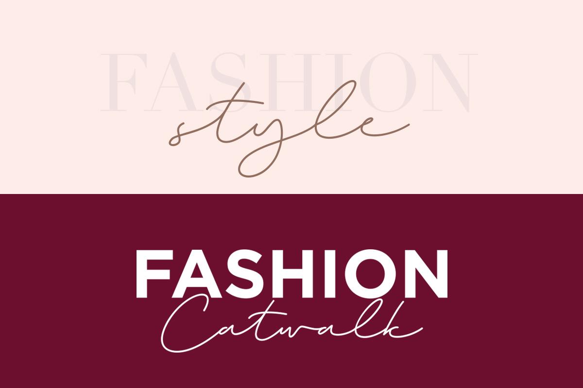 Magenta - 3 Luxury Signature Font example image 12
