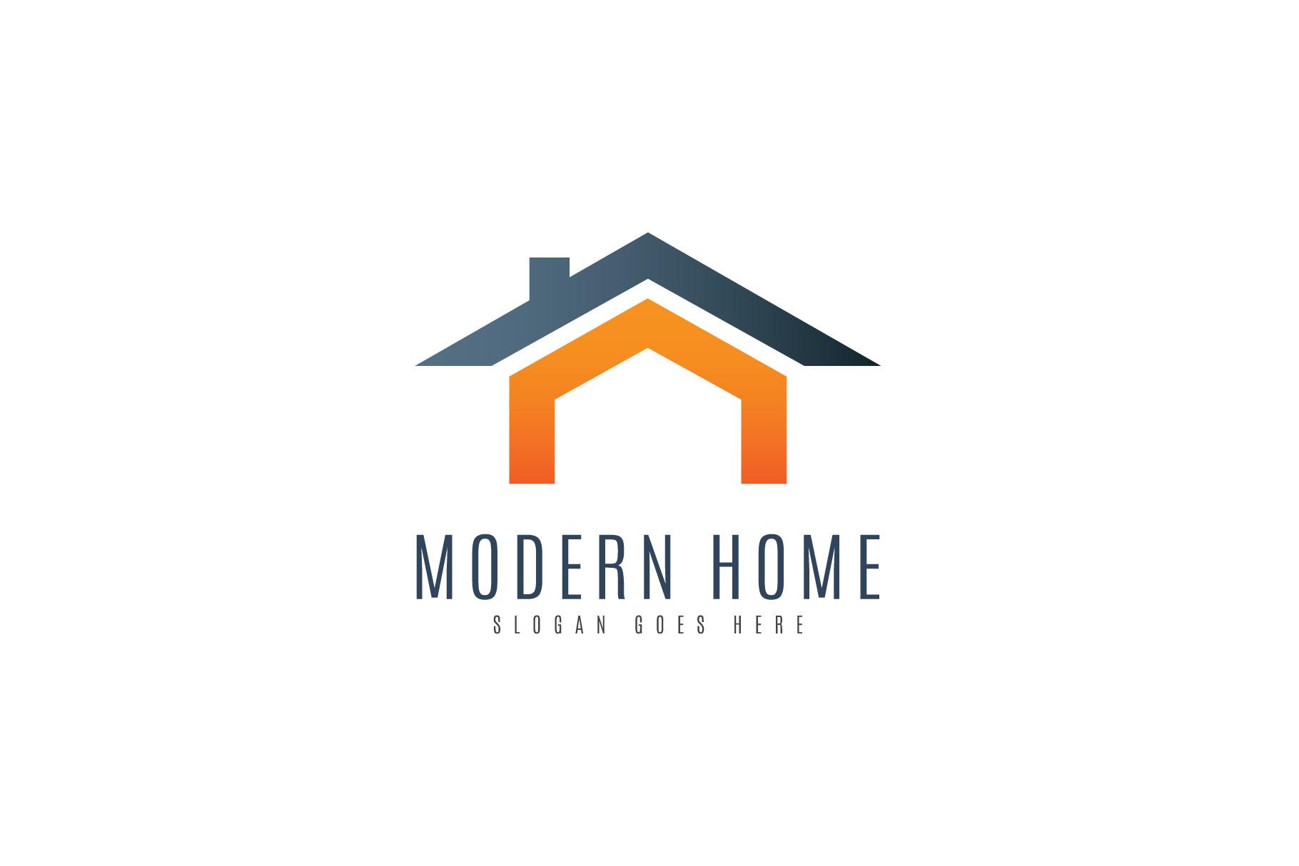Modern Home Logo example image 2