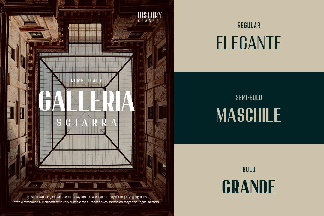 Mason Elegant Typeface example image 5