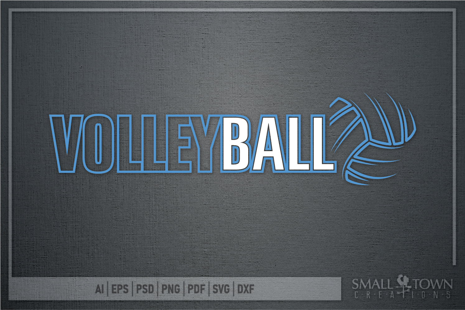 Volleyball, Volleyball ball, Sport logo, PRINT, CUT & DESIGN example image 3