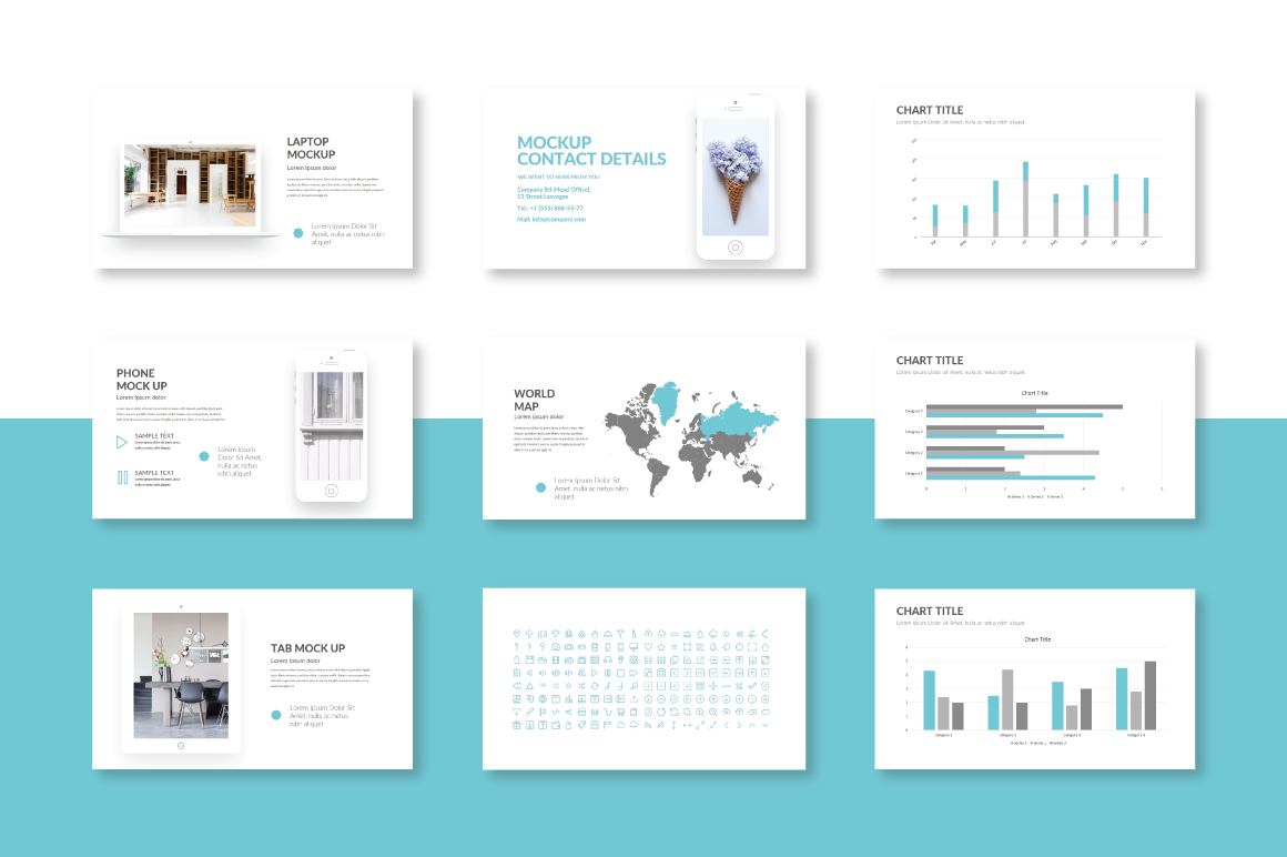 Trace Powerpoint Template example image 4