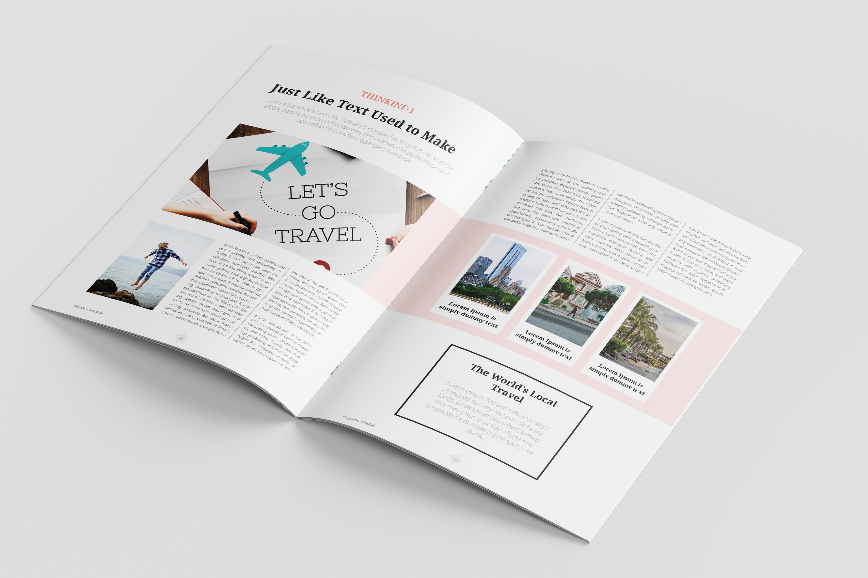 Travel Magazine Template example image 9