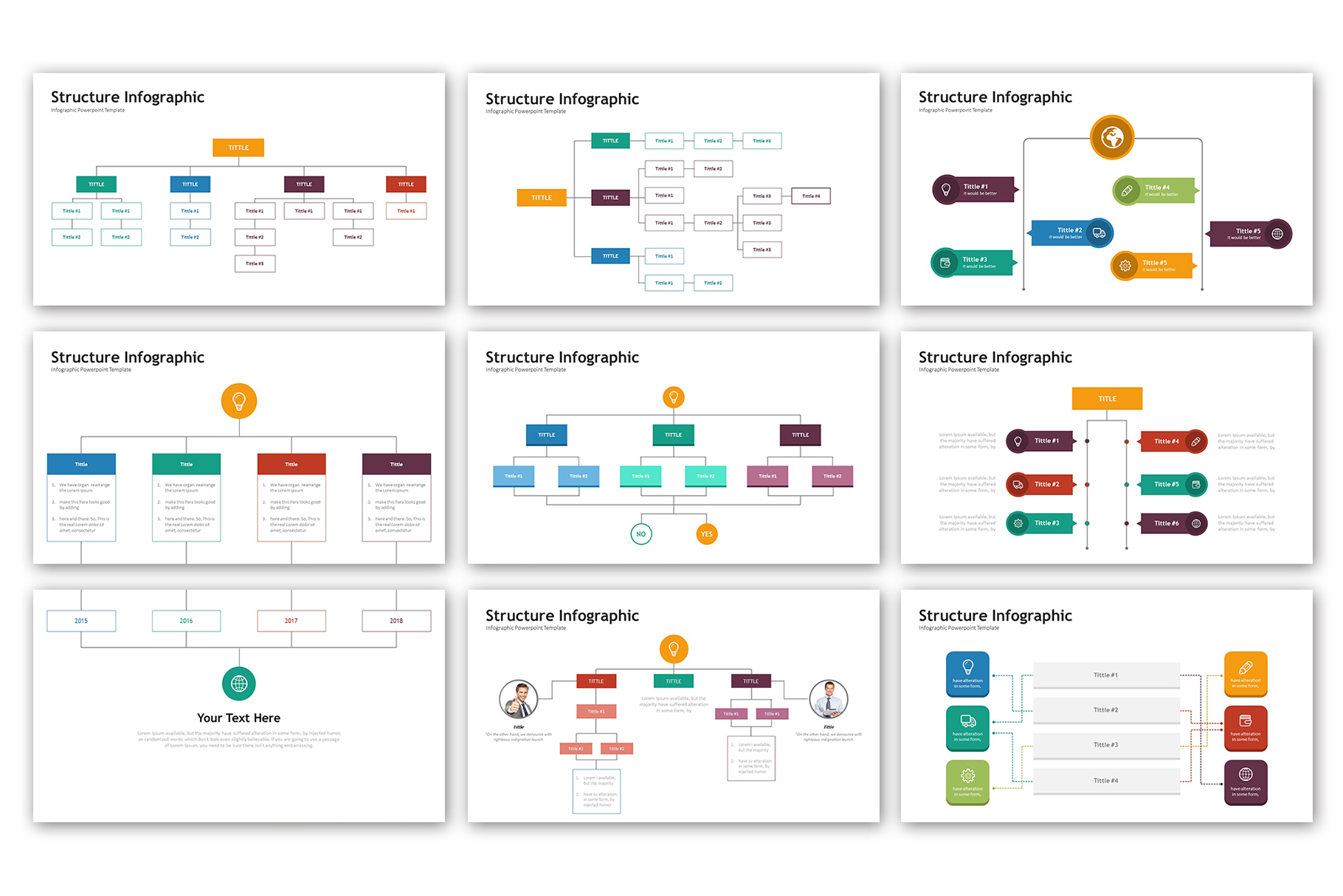 Structure Presentation - Infographic Template example image 2