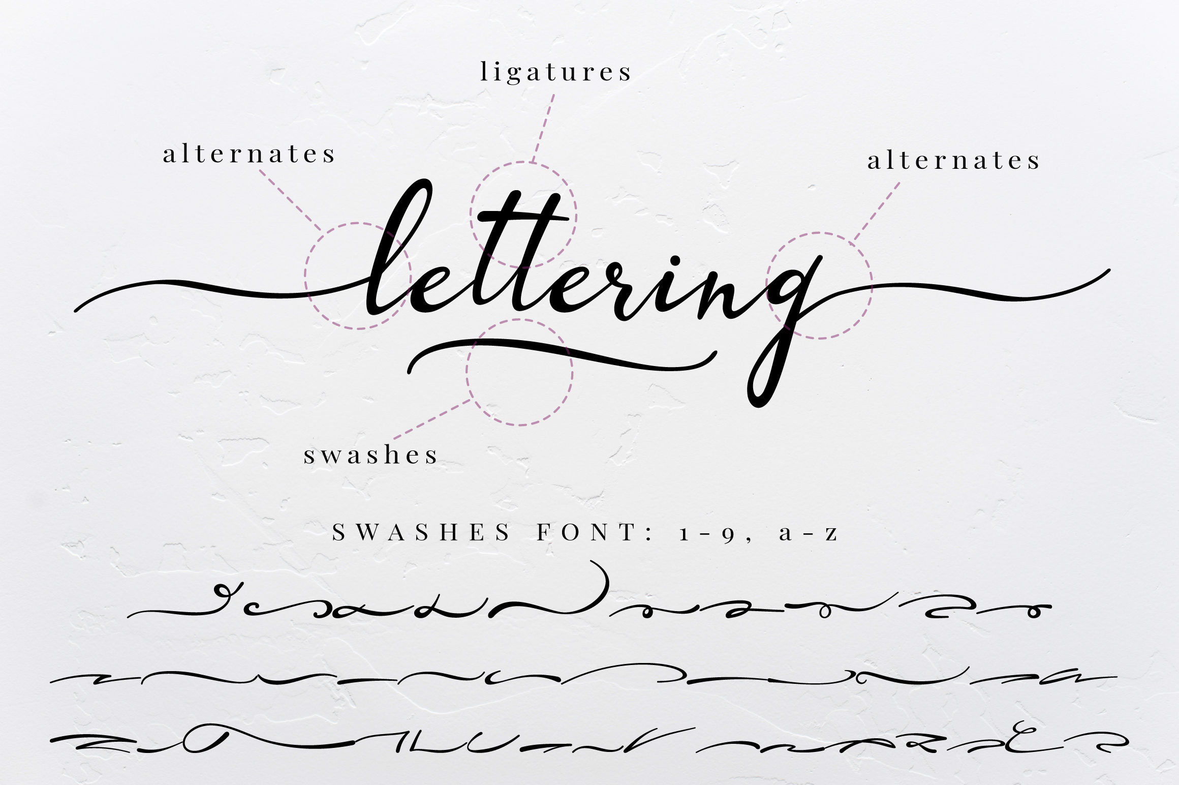 Lazy Daisy - calligraphy font with swashes example image 11