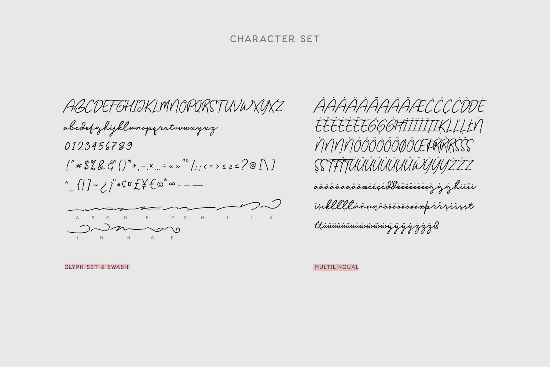 Balig Script example image 8