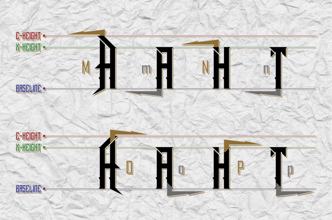 Dramaga Typeface example image 8