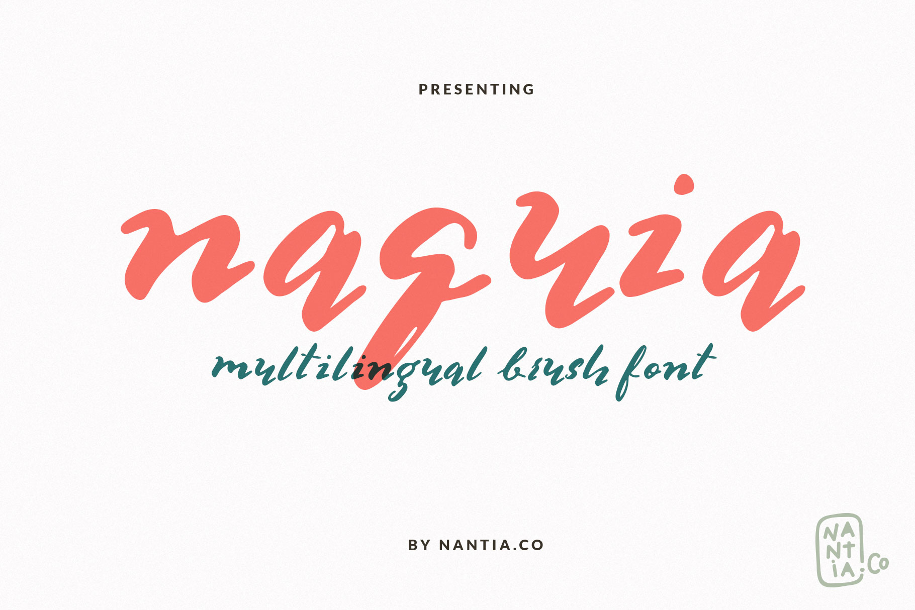 Multilingual Brush Font- Naquia Font example image 7