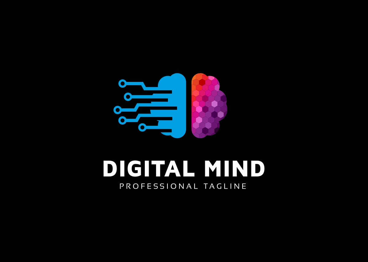 Digital Mind Logo example image 2