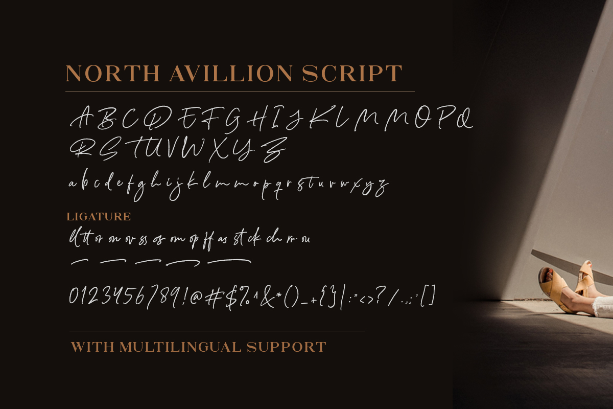 North Avellion - Script & Serif Duo example image 10