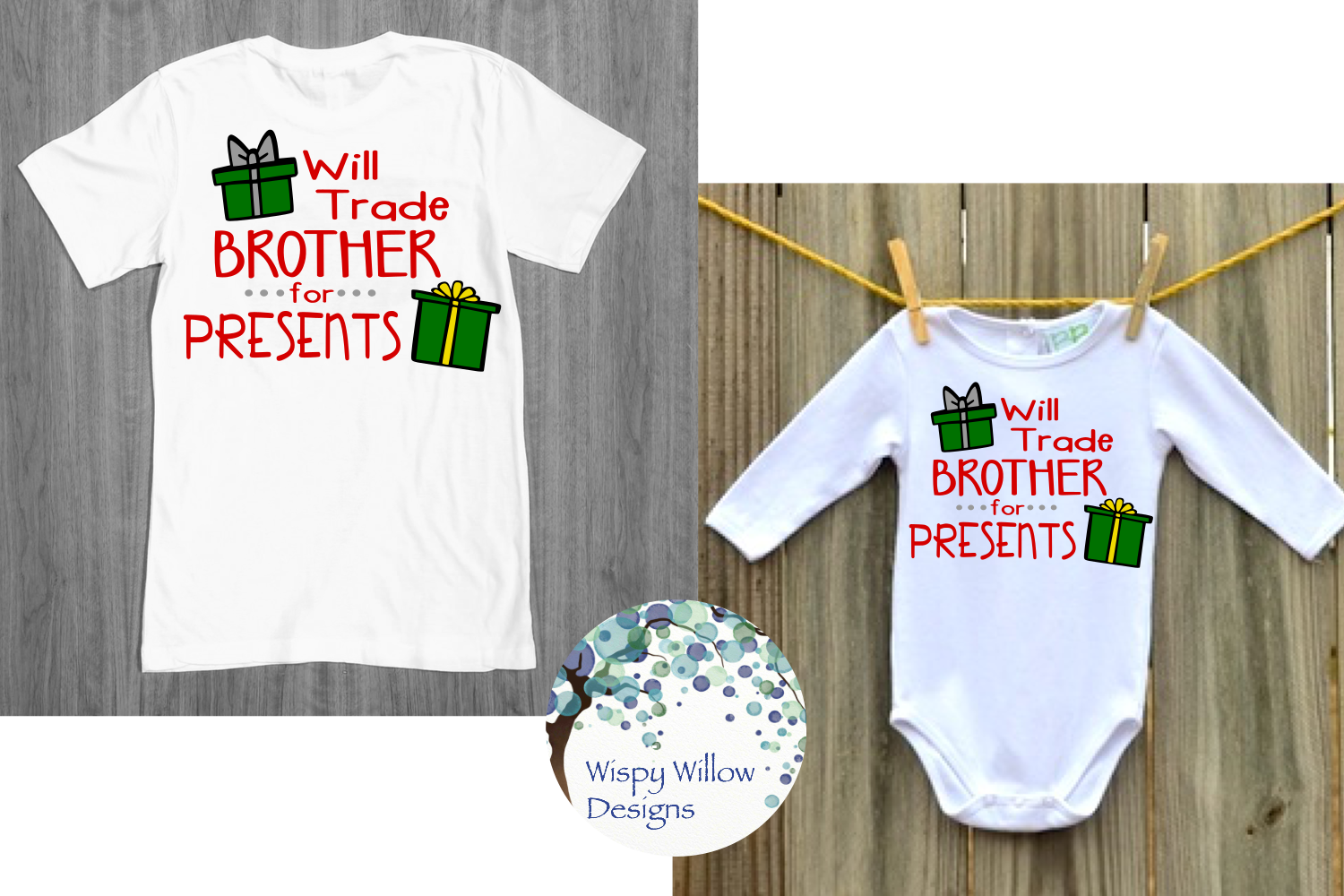 Kids Christmas Shirt Bundle | Funny Christmas SVG Cut Files example image 11