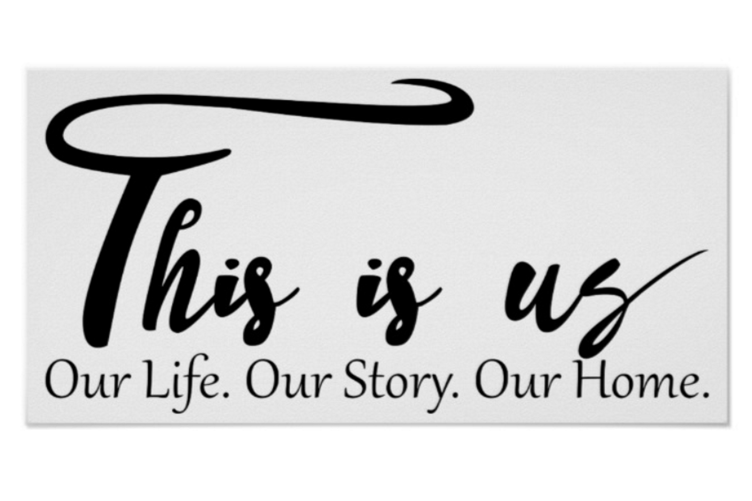 This is us SVG This is us Our Life Our Story Our Home SVG example image 3