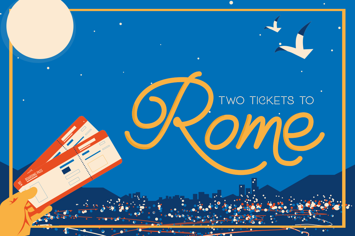 Holiday Travel Font Duo example image 2