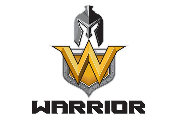 Spartan Warrior Helmet Shield W Retro example image 1