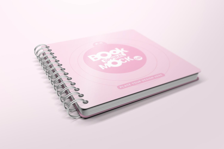 Spiral Book Mockups  example image 3