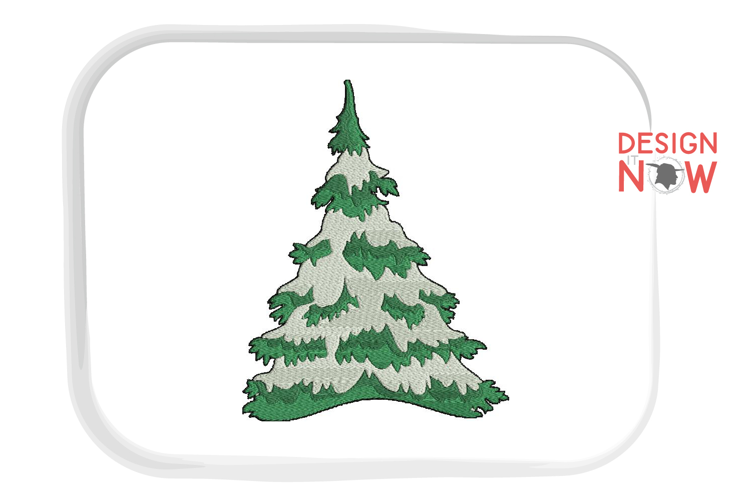 Tree Embroidery Design, Nature Embroidery Pattern example image 1