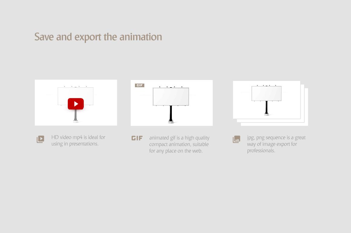 Billboard Animated Mockups Bundle example image 10