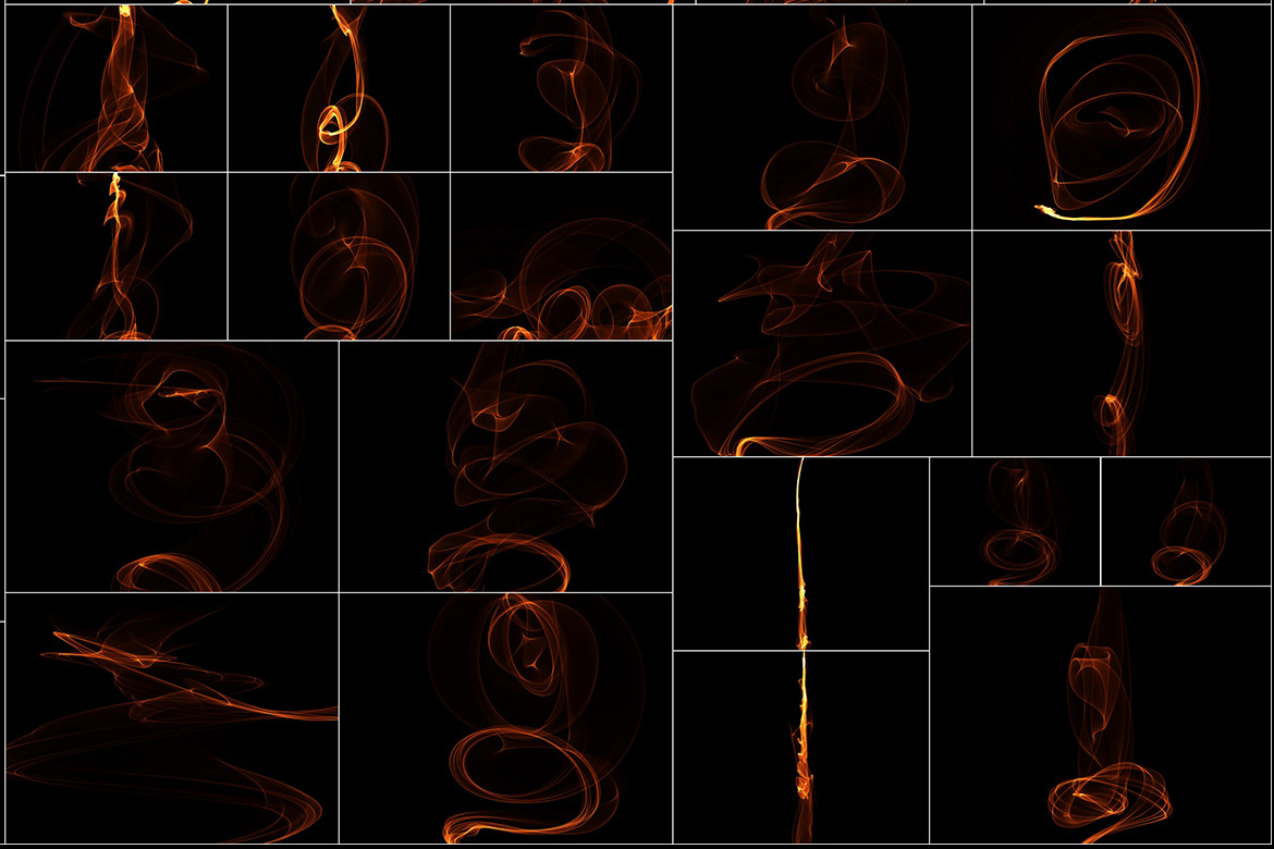 75 Abstract Fire Overlays Vol. 2 example image 6