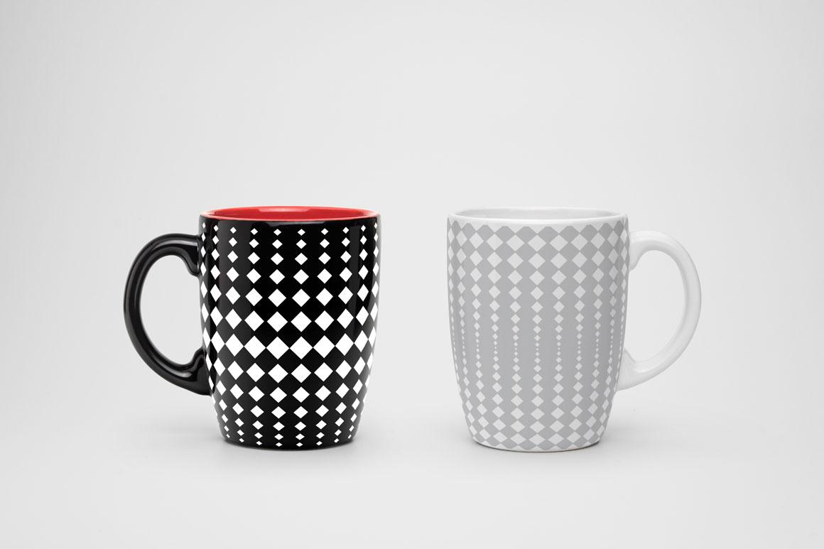 Set of halftone seamless patterns example image 2