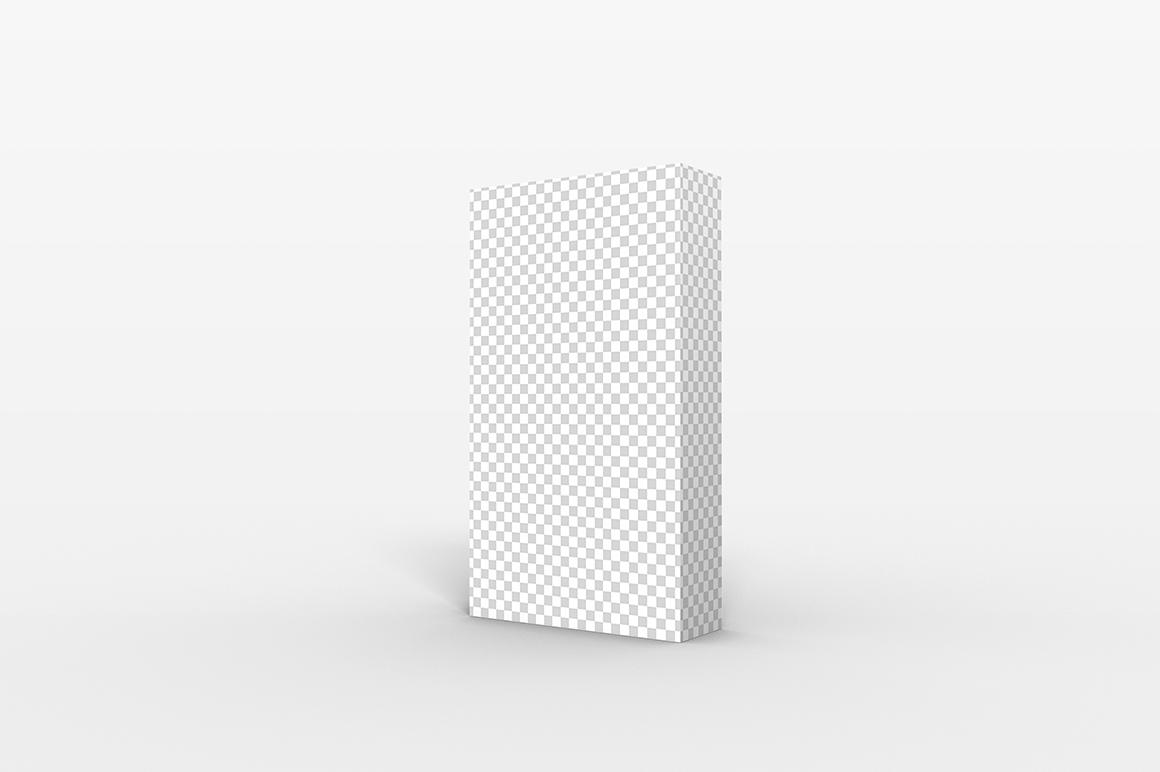 9.16.3 Simple 3D Box Mockup PSD example image 2
