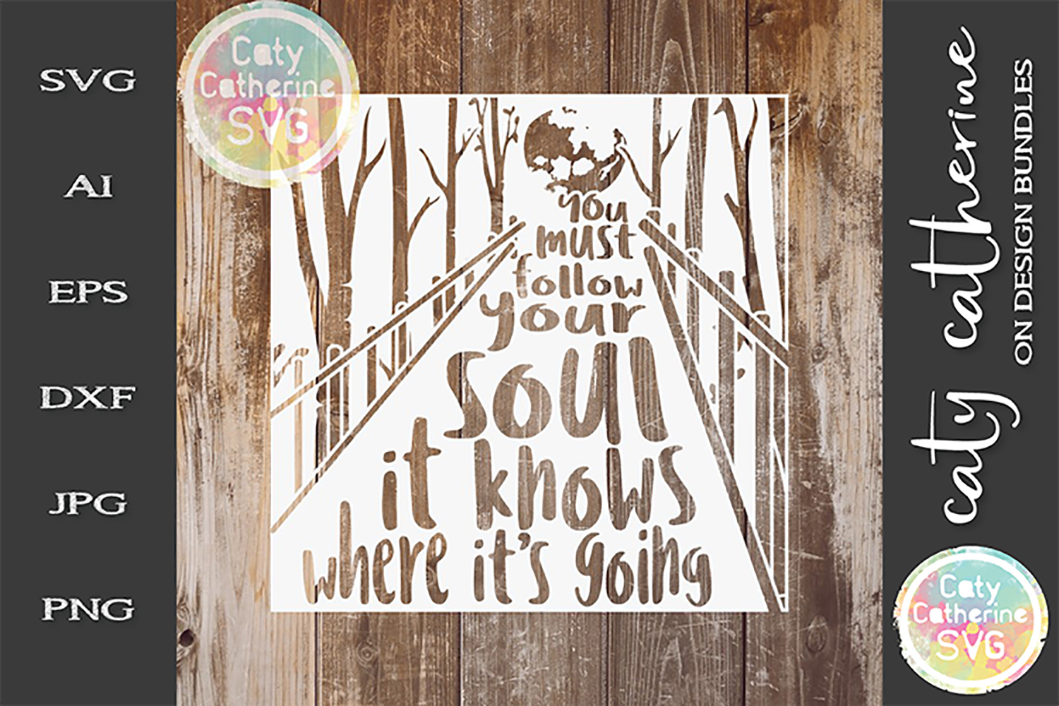 You Must Follow Your Soul It Knows Where It's Going SVG example image 1