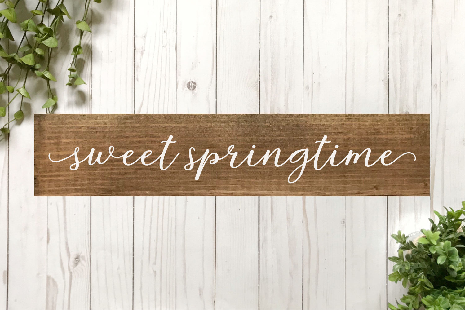 Spring SVG Bundle - Cut Files for Signs example image 14